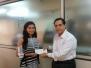 Isha Jhatakia Becomes the University Topper